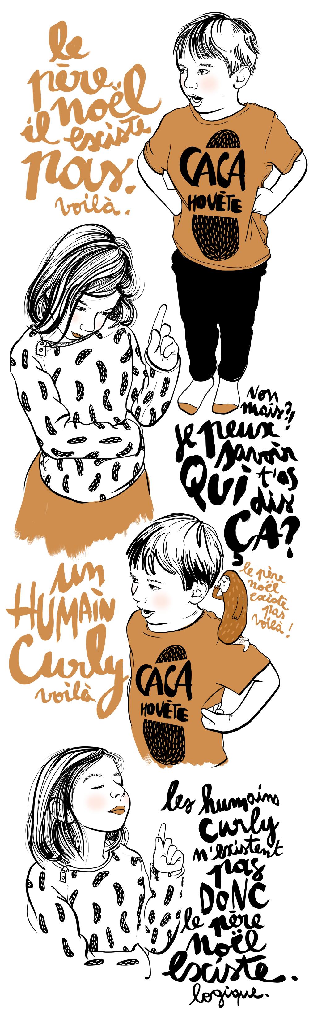 L'HumainCurly